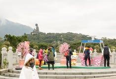 Tian Tan Buddha (großer Buddha) Lizenzfreie Stockfotografie