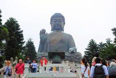 Tian tan buddha, hong kong Royalty Free Stock Photo