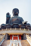 Tian Tan Buddha in Hong Kong Stock Images