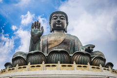 Tian Tan Buddha Stock Photos