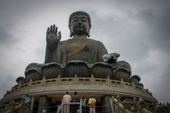 Tian Tan Buddha, Hong Kong. Detail of Tian Tan Buddha, Hong Kong Royalty Free Stock Photos