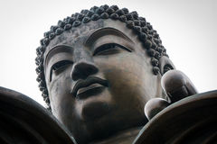 Tian Tan Buddha, Hong Kong. Detail of Tian Tan Buddha, Hong Kong Royalty Free Stock Photo