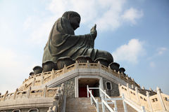 Tian Tan Buddha in Hong Kong Royalty Free Stock Image