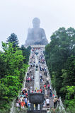 Tian Tan Buddha of Hong Kong Royalty Free Stock Images
