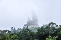 Tian Tan Buddha of Hong Kong Stock Photo