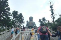 Tian Tan Buddha, Hong Kong royalty free stock photography