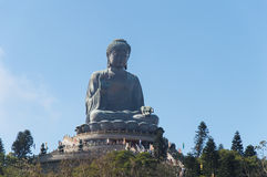 Tian Tan Buddha, isola di Lantau, Hong Kong immagini stock