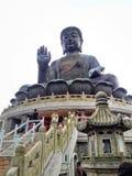 Tian Tan Buddha Lantau ö, Hong Kong royaltyfria foton
