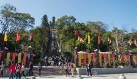 Tian Tan Buddha, Lantau Island, Hong Kong Royalty Free Stock Photography