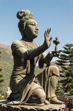 Tian Tan Buddha, Lantau Island, Hong Kong Stock Photography