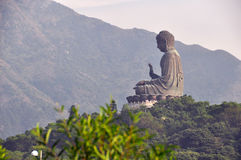 Tian Tan Buddha at Po Lin Monastery Royalty Free Stock Photos