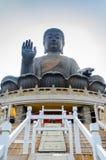 Tian Tan Buddha Statue Royalty-vrije Stock Afbeeldingen