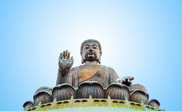 Free Tian Tan Buddha Statueat High Mountain Near Po Lin Monastery, Lantau Island, Hong Kong. Royalty Free Stock Photo - 91043725