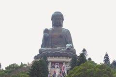 Tian Tan Buddha - The worlds's tallest bronze Buddha in Lantau Island, Hong Kong Royalty Free Stock Image