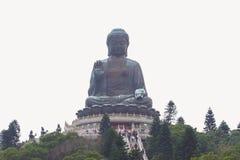 Tian Tan Buddha - The worlds's tallest bronze Buddha in Lantau Island, Hong Kong Stock Image