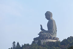 Tian tan giant buddha Royalty Free Stock Image