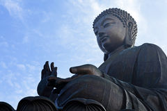 Tian Tan Giant Buddha Stock Photography
