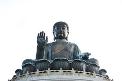 Tian Tan Giant Buddha in Hong Kong Stock Photography