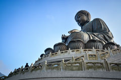 Tian Tan Giant Buddha in Hong Kong Royalty Free Stock Photography