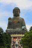 Tian Tan Giant Buddha at Po Lin Monastery Hong Kong Stock Photography