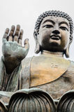 Tian Tan, grote Boedha, bronsstandbeeld Royalty-vrije Stock Fotografie