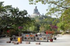 Tian Tan monastery, Hong Kong Royalty Free Stock Photo