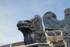 Tian Tan park in Beijing. Ornate sculptures in Tian Tan Park, Beijing, China Stock Photos