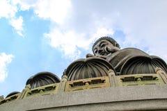Tian Tan stor Buddha Arkivfoto