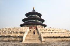 tian tempel för beijing himmelsolbränna Fotografering för Bildbyråer