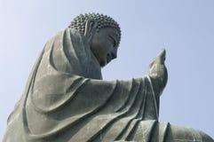 Tian Tian菩萨在香港 免版税库存照片