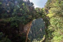 tian xia di yi qiao, tianzhi & x28;tianzi& x29; shan Tianzi Mountain royalty free stock photography