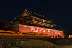 TianAn Gate of Beijing Royalty Free Stock Photo