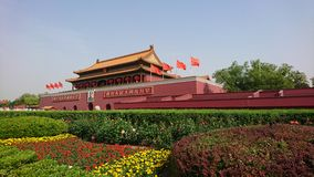 Tiananmen å¤©å® ‰ é-€ Stock Fotografie