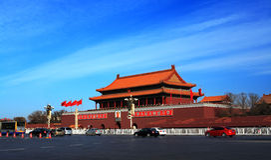 Tiananmen Stock Photography