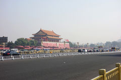 Tiananmen Beijing Fotos de Stock Royalty Free