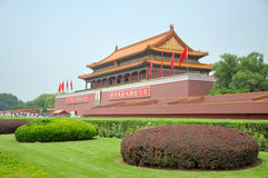 Tiananmen Beijing, Kina Arkivfoton