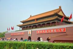Tiananmen Beijing, Kina Royaltyfria Bilder