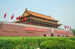 Tiananmen Beijing, Kina Fotografering för Bildbyråer