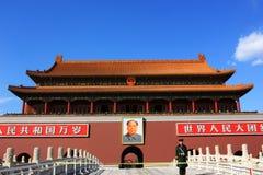 Tiananmen della porcellana Immagine Stock