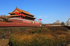 Tiananmen des Porzellans Lizenzfreies Stockbild