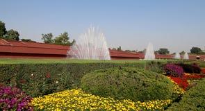 Tiananmen fyrkant -- är en fyrkant för stor stad i mitten av Peking Fotografering för Bildbyråer