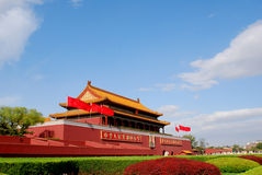 Tiananmen gate stock images
