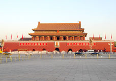 Tiananmen Gate in Beijing Royalty Free Stock Images