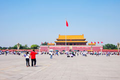 Tiananmen Gate in Beijing Royalty Free Stock Photo