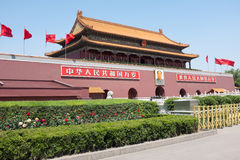 Tiananmen gate Royalty Free Stock Photo