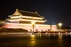 Tiananmen gate of Forbidden City Stock Images