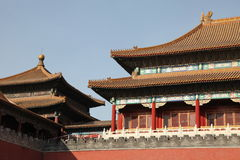 Tiananmen Gate, Forbidden City. Gate of Heavenly Peace entrance to The Forbidden City, at Tiananment Square in Beijing, China Royalty Free Stock Images