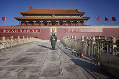 The Tiananmen, Gate of Heavenly Peace, Beijing, China Stock Images