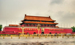 The Tiananmen, Gate of Heavenly Peace in Beijing, China Stock Photos