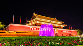 The Tiananmen, Gate of Heavenly Peace in Beijing, China Stock Images